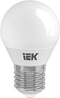 Лампа IEK ECO G45 7Вт 230В 4000К E27 (LLE-G45-7-230-40-E27) -