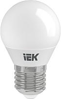 Лампа IEK ECO G45 7Вт 230В 3000К E27 (LLE-G45-7-230-30-E27) -