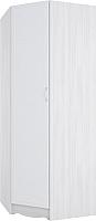 Шкаф SV-мебель Акварель 1 угловой (ясень анкор светлый/белый матовый) -