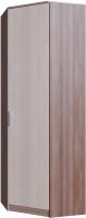 Шкаф SV-мебель Город угловой (ясень шимо темный/ясень шимо светлый) -