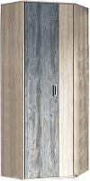 Шкаф SV-мебель Прихожая Визит 1 угловой (дуб сонома/сосна джексон) -