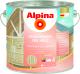 Грунтовка Alpina Алкидная по дереву (2.5л, бесцветный) -