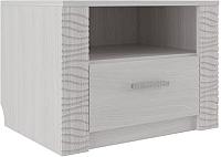 Прикроватная тумба SV-мебель Гамма 20 (ясень анкор светлый/сандал светлый) -