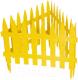 Изгородь декоративная Palisad Рейка 65000 (желтый) -
