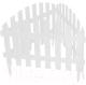 Изгородь декоративная Palisad Винтаж 65011 (белый) -