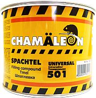 Шпатлевка автомобильная CHAMALEON Среднезернистая 15015 (1кг) -