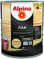 Лак Alpina Для деревянных полов (750мл, шелковисто-матовый) -