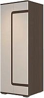 Шкаф SV-мебель Гостиная Нота 25 комбинированный (дуб венге/жемчуг) -