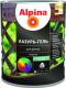Защитно-декоративный состав Alpina Лазурь-гель (2.5л, черный) -