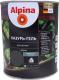 Защитно-декоративный состав Alpina Лазурь-гель (750мл, черный) -