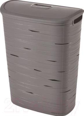Корзина для белья Curver Ribbon 00746-T37-00 / 221814 (серый) -