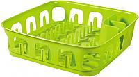 Сушилка для посуды Curver Ess Dish Drainer 00742-598-00 / 223902 (зеленый) -