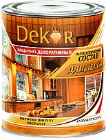 Антисептик для древесины Dekor Декоративный (1.8кг, махагон) -