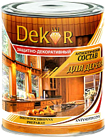 Антисептик для древесины Dekor Декоративный (1.8кг, орегон) -
