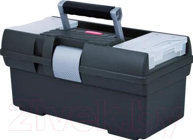 Купить Ящик для инструментов Curver, Premium 16 / 159622 (графит), Польша, пластик