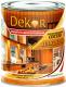 Антисептик для древесины Dekor Декоративный (1.8кг, рябина) -