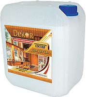 Антисептик для древесины Dekor Декоративный (6.5кг, калужница) -