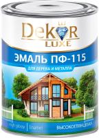 Эмаль Dekor ПФ-115 (1.8кг, белый глянцевый) -