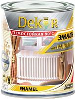 Эмаль Dekor Для радиаторов отопления (0.8кг, алкид) -