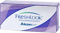 Контактная линза FreshLook Colorblends Настоящий сапфир Sph-0.00 D14.5 -