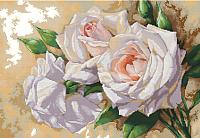 Набор для вышивания БЕЛОСНЕЖКА Розовое трио / 6035-14 -