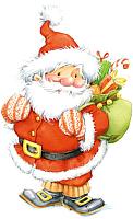 Набор для вышивания БЕЛОСНЕЖКА Санта / 661-14 -