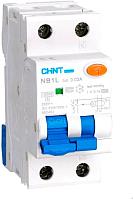Дифференциальный автомат Chint NB1L 1P+N B10 30mA AC 10kA -