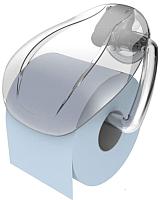 Держатель для туалетной бумаги Bama Light Portarotolo 70317 (прозрачный) -