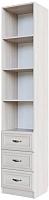 Шкаф-пенал SV-мебель Вега с ящиками ДМ-12 (сосна карелия) -