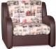 Кресло-кровать Rivalli Барон 70 с ППУ (Soho 02 к/з domus Chocolate) -