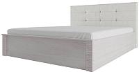 Каркас кровати SV-мебель Гамма 20 140x200 мягкое изголовье (ясень анкор светлый/сандал светлый) -