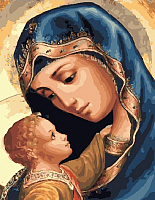 Картина по номерам Picasso Дева Мария и Иисус (PC4050497) -