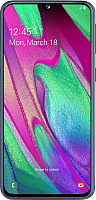 Смартфон Samsung Galaxy A40 (2019) / SM-A405FZKGSER (черный) -