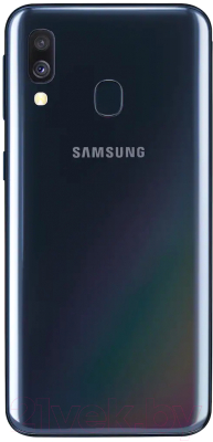 Смартфон Samsung Galaxy A40 (2019) / SM-A405FZKGSER (черный)