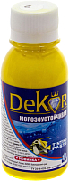 Колеровочная паста Dekor №2 (100г, золотисто-желтый) -