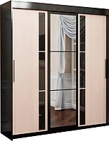 Шкаф SV-мебель №11 1.5 (дуб венге/дуб млечный) -