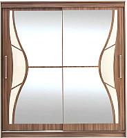 Шкаф SV-мебель №16 2.0 (ясень шимо темный) -
