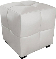 Пуф SV-мебель Квадратик Сантекс (белый) -