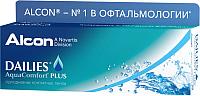 Контактная линза Dailies Aqva Comfort Plus Sph-4.50 R8.7 D14.0 -