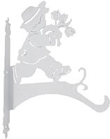 Держатель для кашпо GALA DK003-W (белый) -