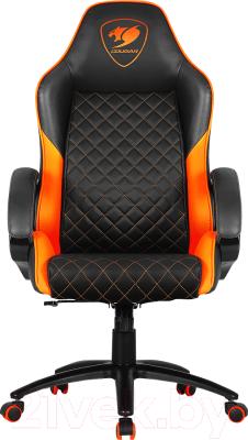 Кресло геймерское Cougar Fusion (черный/оранжевый)