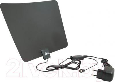 Цифровая антенна для тв Ritmix RTA-170 DVB-T2 Ultra Slim - общий вид