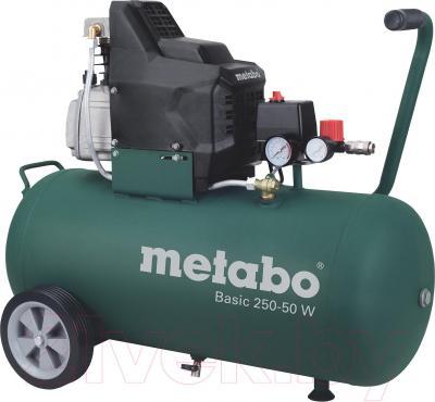Воздушный компрессор Metabo Basic 250-50 W (601534000) - общий вид