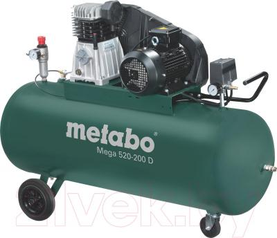 Воздушный компрессор Metabo Mega 520-200 D (601541000) - общий вид