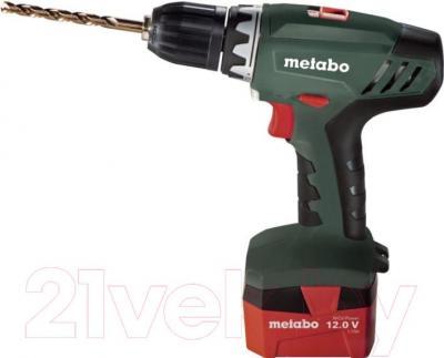 Профессиональная дрель-шуруповерт Metabo BS 12 NiCd (602194500) - общий вид