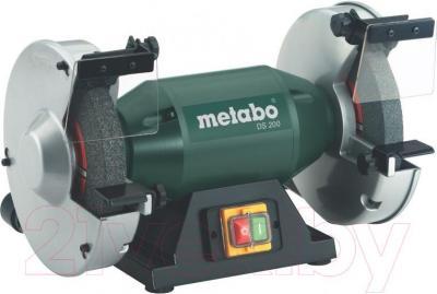 Профессиональный точильный станок Metabo DS 200 (619200000) - общий вид