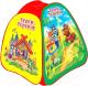 Детская игровая палатка Играем вместе Теремок / GFA-TEREM01-R -