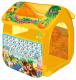 Детская игровая палатка Играем вместе Чебурашка с азбукой / GFA-0055-R -