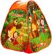Детская игровая палатка Играем вместе Маша и Медведь / GFA-MB01-R -
