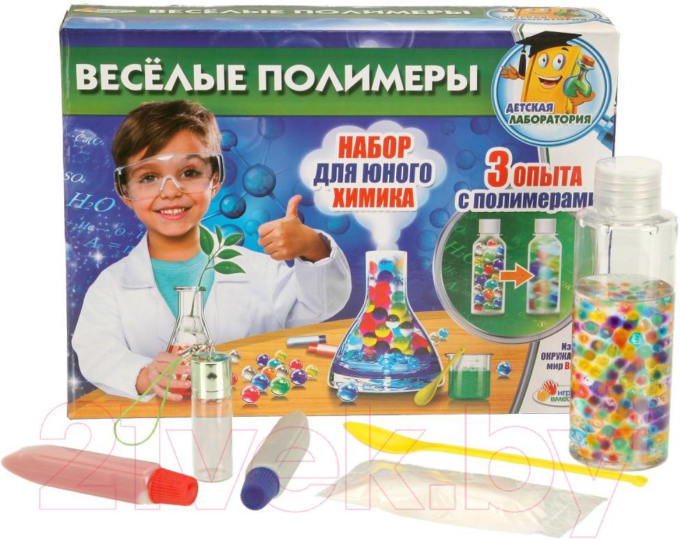 Купить Набор для опытов Играем вместе, Весёлые полимеры / TX-10016, Китай